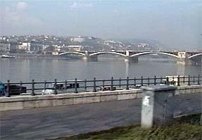 ブダペスト市街・ドナウ川