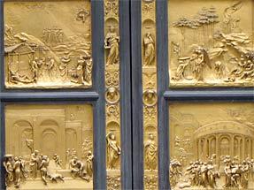 洗礼堂・天国の扉