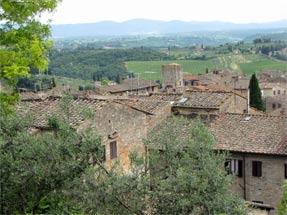 トスカーナの景観