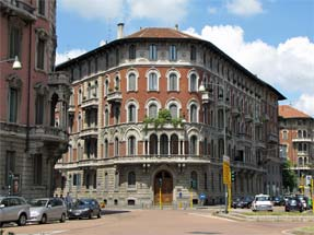 ミラノ市内景観
