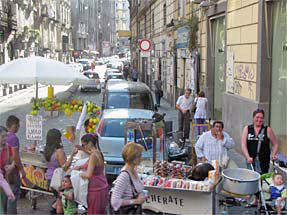 ナポリ市街地