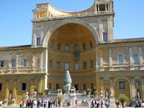 ヴァチカン美術館・ピーニャの中庭