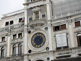 サン・マルコ広場・時計塔