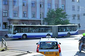 リガのバス