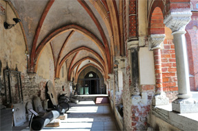 リガ大聖堂・回廊