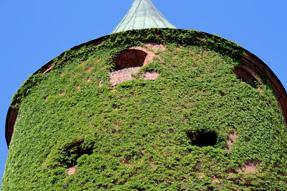 リガ旧市街の火薬塔
