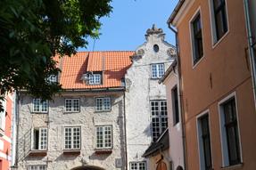 リガ旧市街のスウェーデン門