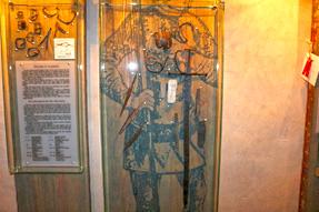 トゥライダ城の展示・資料