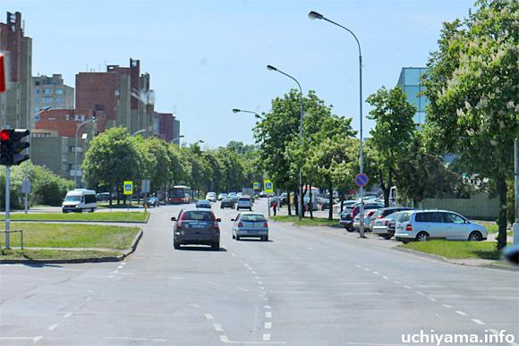 カウナス市街