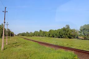 シャウレイ〜ラトビアの道風景