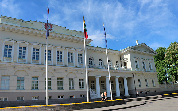 リトアニア大統領官邸