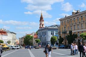 ヴィリニュス市庁舎広場