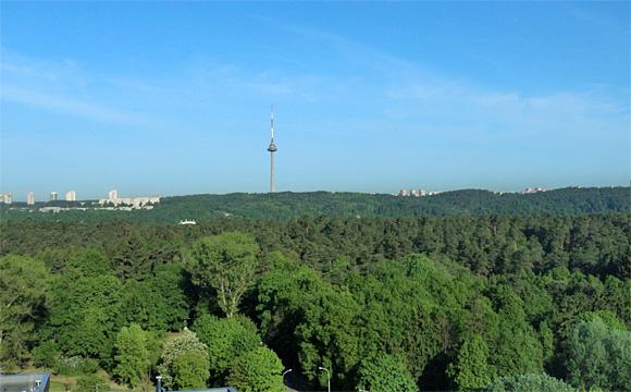 ヴィリニュスのテレビ塔