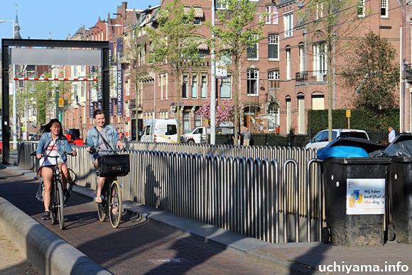 アムステルダムの自転車