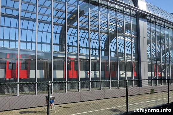 アムステルダムの鉄道