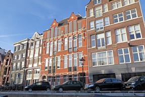 アムステルダム市内の景観
