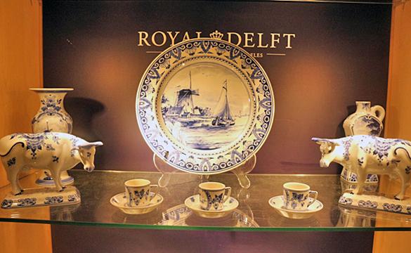 王立デルフト陶器工房