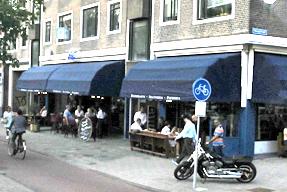 ロッテルダム・オープンカフェ