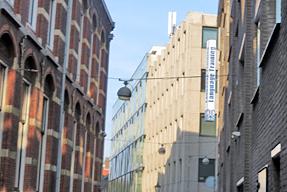 ロッテルダムの街角
