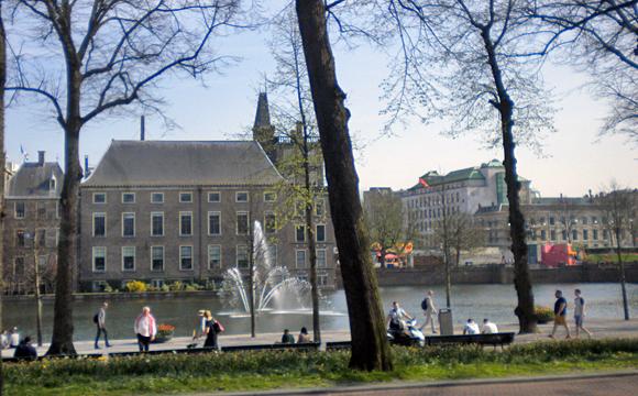 ロッテルダム市内の景観
