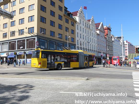 ベルゲンのトロリーバス