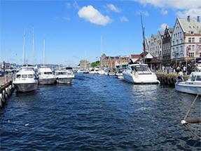ベルゲン港