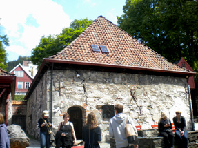 ブリッゲン最古の建物