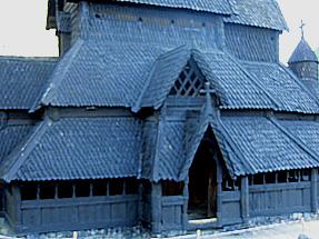 ボルグン・スターヴ教会
