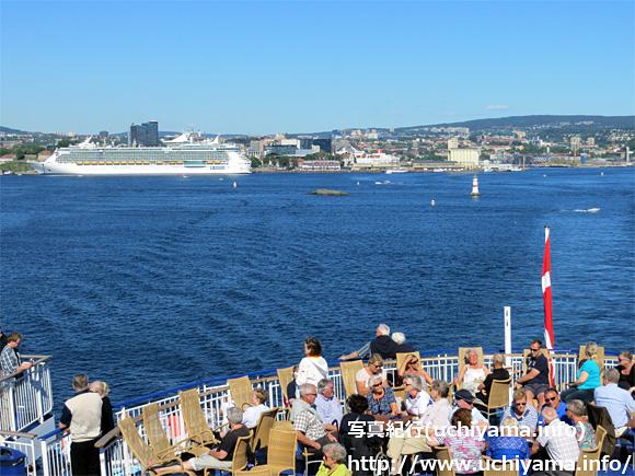 コペンハーゲンへの船旅・オスロ港