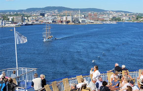 コペンハーゲンへの船旅