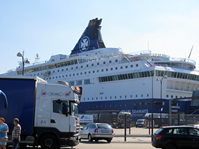 コペンハーゲン港のシーウェイズ