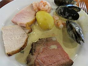 シーウェイズ船内・夕食