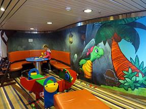 シーウェイズ船内・遊戯室