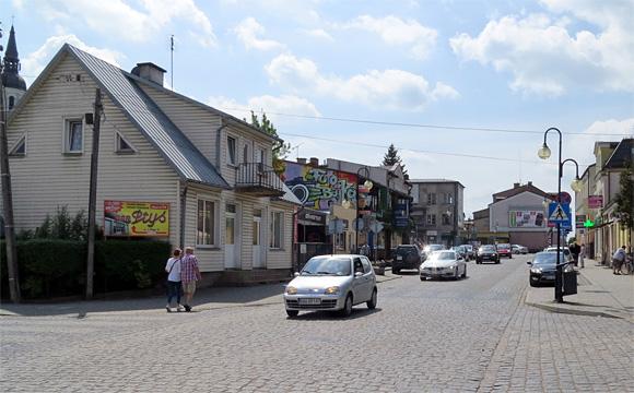 アウグストゥフの街角