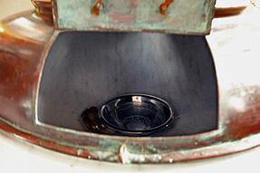 聖ロフ教会・洗礼台