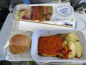 機内食・昼食