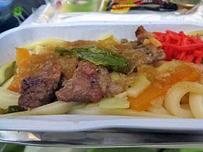 機内食・夕食