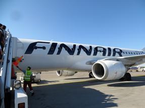 フィンランド航空・AY074便