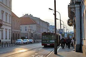 ワルシャワの街角