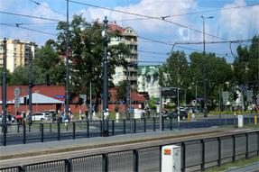 ワルシャワの市街