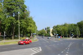 ワルシャワの通り