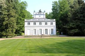 ワジェンキ公園・ホワイトハウス