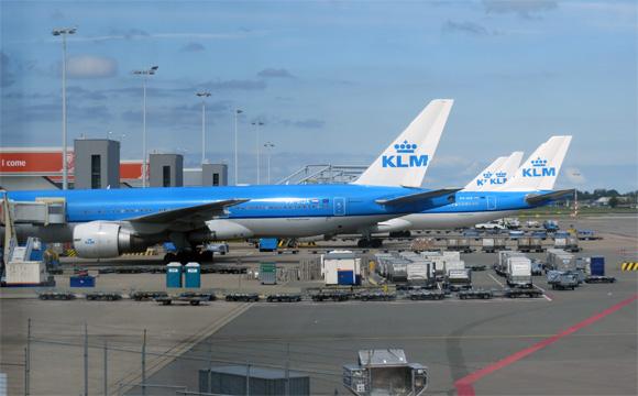 スキポール空港(オランダ・アムステルダム)