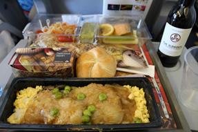 KLMオランダ航空・機内食