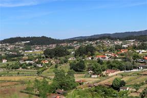 サンチャゴ・デ・コンペステーラからの道風景