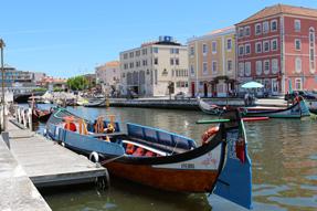 アヴェイロの中央運河
