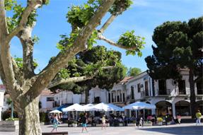 バターリャの町風景