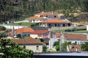 リスボンからの道風景