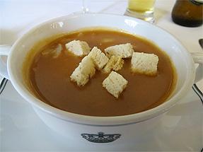 エビ入りシーフードスープ