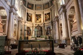 ジェロニモス修道院・祭壇